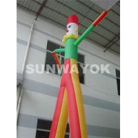 Wholesale OEM Commercial Inflatable Air Dancer Printing Company Name With Triple Stitching from china suppliers