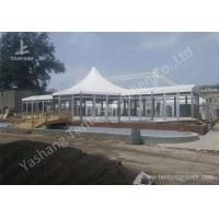 Wholesale Custom Outdoor Tents For Events , Event Canopy Tent A Frame Combined With High Peak Shape from china suppliers
