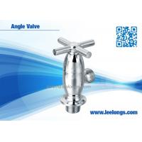 Wholesale Bathroom Angle Valve Antique Bathroom Accessories With Cross Handle from china suppliers