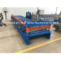 Wholesale Corrugated 1008 And 1000 Trapezoidal Double Layer Roll Forming Machine With Hydraulic Precutter from china suppliers