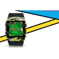 Wholesale Unisex Double Time Analog Digital Watch Dual Time With 5 Colors Backlights from china suppliers