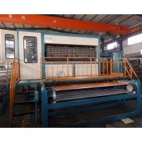 Buy cheap Big capacity double roller 8000-12000 pcs/h European technical egg tray machine from wholesalers