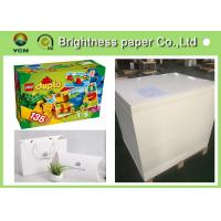Wholesale High End Printing / Pacaking Ivory Board Paper 190gsm ~ 400gsm Antistatic from china suppliers