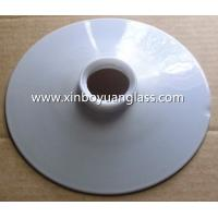 Wholesale Flat opal milk glass light shade from china suppliers