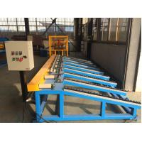 Buy cheap Manual / Hydraulic Steel Stud Roll Forming Machine Chain Drive 0.8mm Thickness from wholesalers