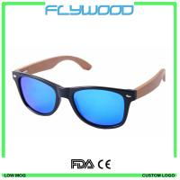 Buy cheap 2016 Sunglasses Customized Glasses Custom Wood Sunglasses Wooden Bamboo Logo CE FDA from wholesalers