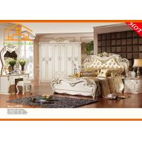 Wholesale French style antique white cheap luxury bedroom furniture sets from china suppliers