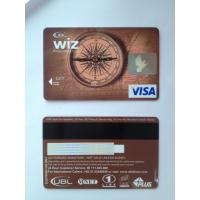 Wholesale Prepaid debit card / visa smart card customer design PVC material from china suppliers
