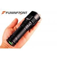 Wholesale Water Resistant Super Bright CREE XM-L T6 Handheld Zoom LED Flashlight from china suppliers
