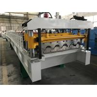 Wholesale 5.5kw 18 Stations Tile Roll Forming Machine / Roof Tile Making Machine from china suppliers