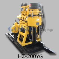 Wholesale Hydraulic water drilling rig HZ-200YG diamond core drilling rig from china suppliers