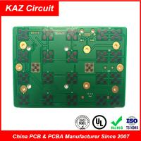 Wholesale 2 layers fr4 printed circuit board 1.6mm 1oz ENIG with Carbon from china suppliers