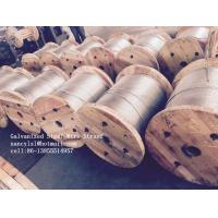 Wholesale Cold Drawn ASTM A475 Galvanised Steel Wire For Communication Cable from china suppliers