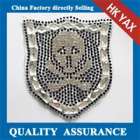 Wholesale D0930 China wholesale shop sew on bling stone applique ;good quality stone applique for garment from china suppliers
