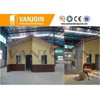 Wholesale Prefab Insulated Wall Panels 38dB-46dB , Durable Exterior Concrete Wall Panels from china suppliers