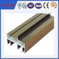 Wholesale Hot! Quality hollow section aluminum sliding window/ aluminum window frame profiles from china suppliers