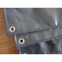 Wholesale grey color pvc coated tarpaulin fumigation from china suppliers