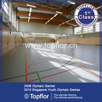 Wholesale Indoor Tennis Volleyball Court Sport Flooring, Portable PVC Basketball Flooring from china suppliers