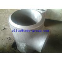 Wholesale ASTM A815 WPS32750 reducing tee from china suppliers