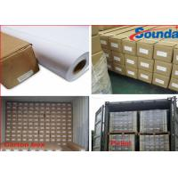 Wholesale Glossy / Matt Eco Solvent Self Adhesive Vinyl Film Large Format Printing PVC Roll from china suppliers