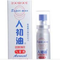Wholesale super man Sex Delay Spray for Men strong effect delay spray for man from china suppliers