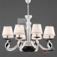 Wholesale MASO NEW Eight Lamps Cloth Cover Pandant Chandelier for Indoor Lighting MS-P3018 from china suppliers
