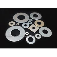 Quality DIN 9021 M18 Carbon Steel Flat Round Zinc Plated Washers For Fitting Machine Parts for sale