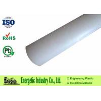 Wholesale Extruded White PVDF Rod Custom For Engineering , 1000mm Length from china suppliers
