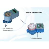 Buy cheap High Accurate Prepaid Electronic Digital Smart Water Meter 15mm - 25mm Diameter from wholesalers