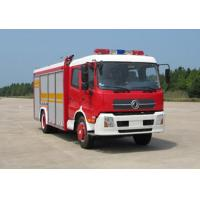 Wholesale Dongfeng Tianjin 5.3cbm foam fire truck from china suppliers