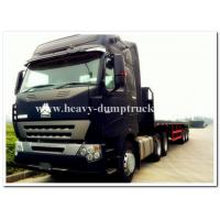 Wholesale A7  HOWO 371HP tractor truck head / prime mover with radial tires and low fuel consumption from china suppliers