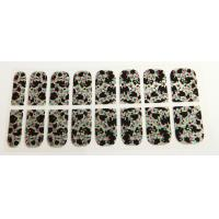 Wholesale Traditional Chinese painting Finger Nail Stickers , 3D nail sticker Printing with stone from china suppliers