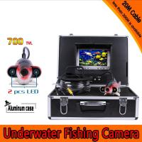 Wholesale 100Meters Depth Fish Like Underwater Camera with 2PCS 2 walt white LEDS for Fish Finder & from china suppliers