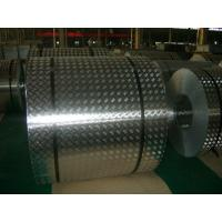 Wholesale 4 mm Roll Aluminum Checkered Plate , Steel Diamond Plate Sheets For Bus from china suppliers