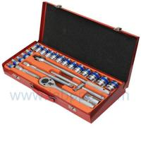 "Wholesale TST24-1/2"" Dr. Cr-V 24pcs Hand Socket Set.,Hand Tool Kit from china suppliers"