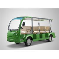 Wholesale Green Color 11 Seats Electric Sightseeing Bus 72V Battery 5 KW Motor Power from china suppliers