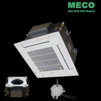 Wholesale Energy-saving DC motor cassette fan coil unit-400CFM from china suppliers