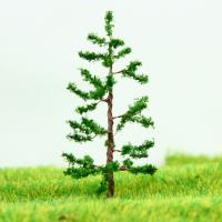 Wholesale Miniature Scale Model Trees Green Avenue Planting Wire Pine Tree 5cm from china suppliers