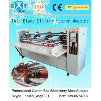 Wholesale Carton Thin Blade Corrugated Cardboard Slitter Scorer Machine Automatic Control from china suppliers