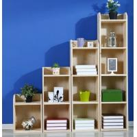 Wholesale Pine Childrens Book Shelves / Kids Room Bookshelf Display Three Layer from china suppliers