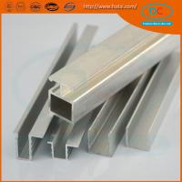 Wholesale High quality  CP brush aluminum window profile, Matt aluminum window section, window profile from china suppliers