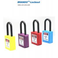 Buy cheap Industrial Safety Lockout Tagout Padlock with Keyed Alike, Nylon Shackle Padlocks from wholesalers
