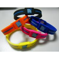 Wholesale Power Energy Balance Rubber Wristband, Custom Silicone Bracelets For Anniversary from china suppliers