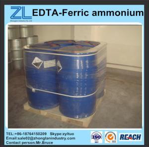 Buy cheap reddish brown China EDTA-Ferric ammonium from wholesalers