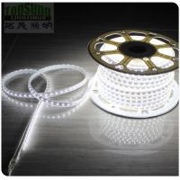 Wholesale 50m high CRI waterproof flexible led strip light 5050 smd 240VAC white strips ribbon from china suppliers