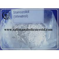 Wholesale Pure Oral Anabolic Steroids Stanozolol Powder Muscle Building Hormone Winstrol CAS 10418-03-8 from china suppliers