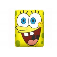 Wholesale Flexibility Yellow SpongeBob Ipad 2 Silicone Cases / laser debossed Logo from china suppliers