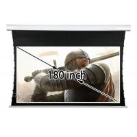 Wholesale Large 180''16 To 9 Tab Tensioned Projection Screen With Soft Matte White Fabric from china suppliers