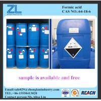 Wholesale  formic acid 80%,85% for textile, rubber and leather industry from china suppliers