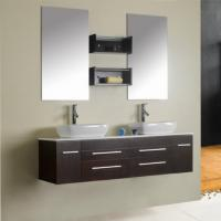 Quality Home use stainless steel floating bathroom cabinets ,SW-1135 for sale
